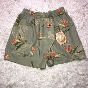 Tommy Bahama Bungalow Brand swim trunks